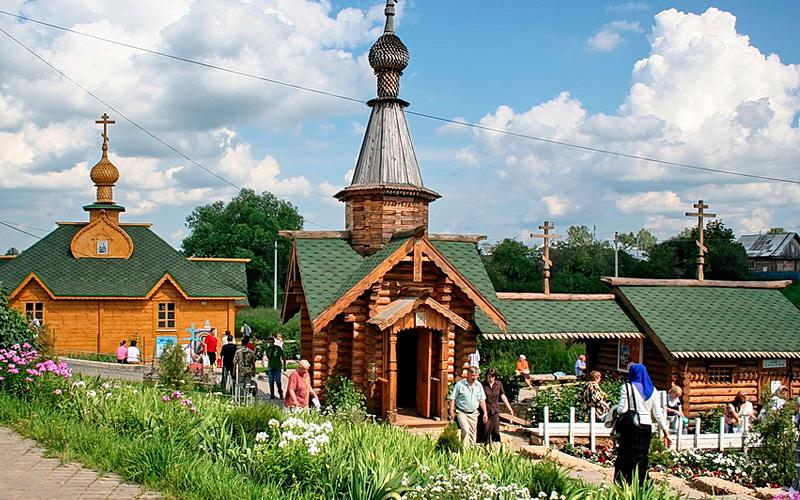 Экскурсии на святые источники в ГК Дивеевская слобода