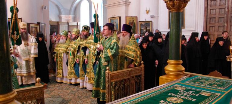 Торжества 110-летия преподобного Серафима Саровского